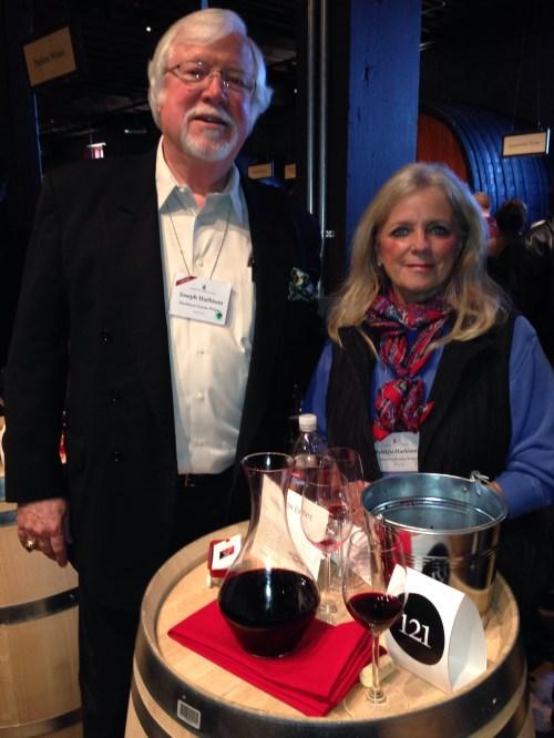 Joe and Pat Harbison of Harbison Wine Estate
