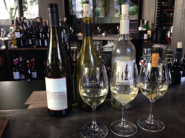 Washington Vanguard Wine Flight - Purple Cafe & Wine Bar, Seattle WA