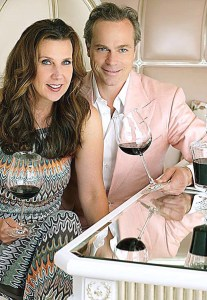Gina Gallo and Jean-Charles Boisset, courtesy of the Napa Valley Register