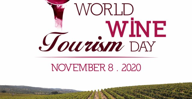 Logo for World Wine Tourism Day which was November 8, 2020
