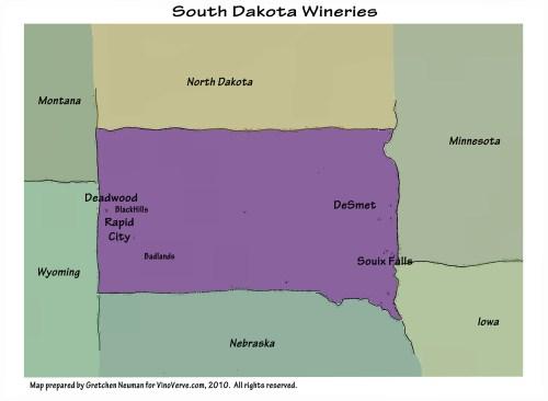 South Dakota Wineries