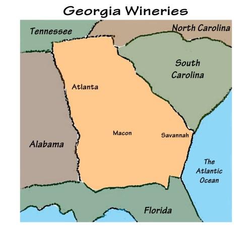 Georgia Wineries