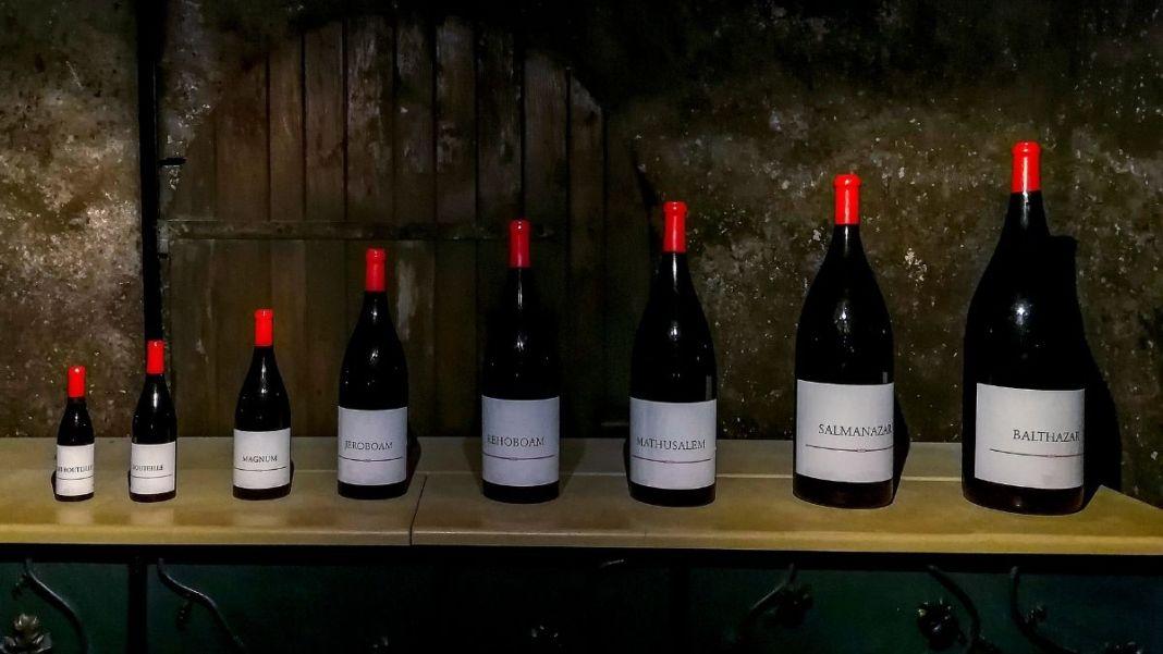 tamaños de las botellas de vino