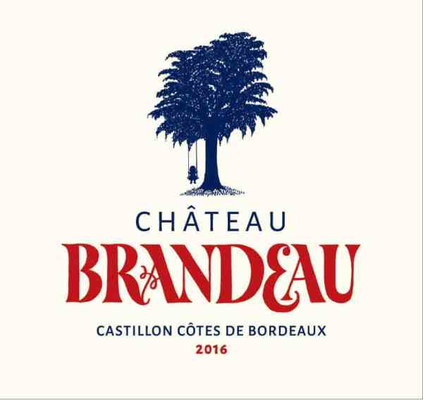 Brandeau 2016 du Château Brandeau