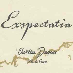 La cuvée Expectatia 2018 de Christian Ducroux