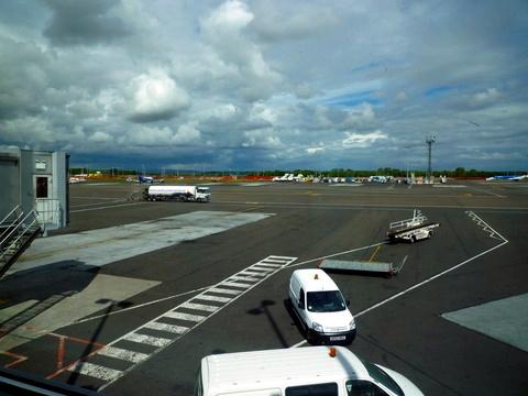 纽卡斯尔机场,非常小,但是感觉很精致