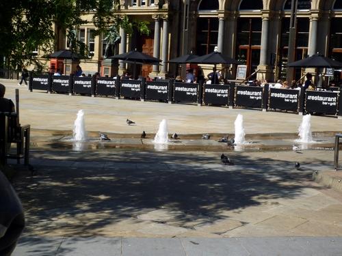 街边的广场