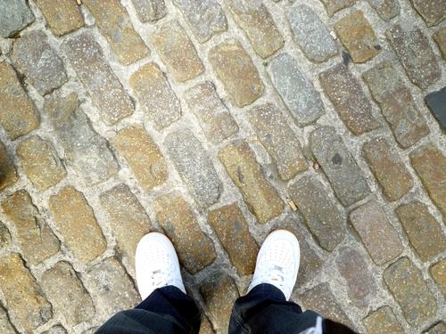 砖路,典型的欧洲风格