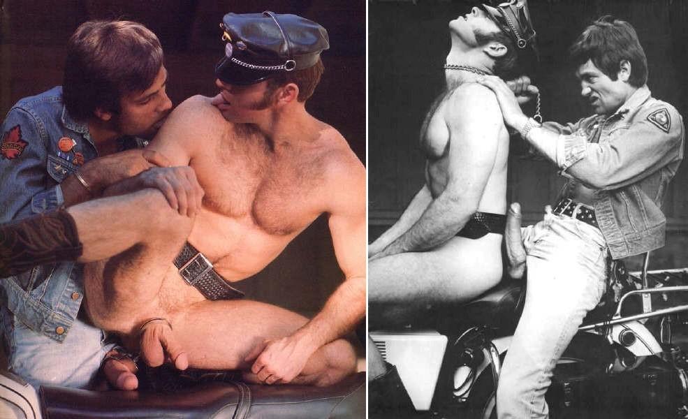 Toby and Scott Butcher vintage gay hot daddy dude men porn