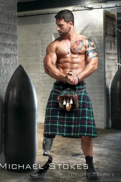 hot ripped rugged men military veteran michael stokes