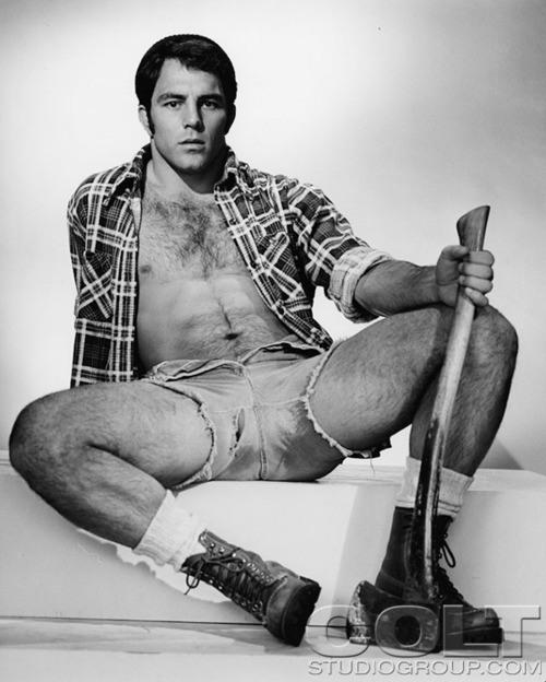 Guy McCoy vintage gay hot daddy dude men porn
