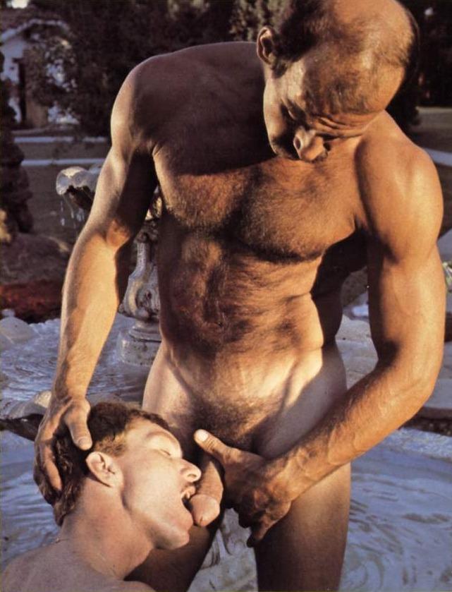 Mike Morris fuck Dave Daniels vintage gay hot daddy dude men porn Desert Fox
