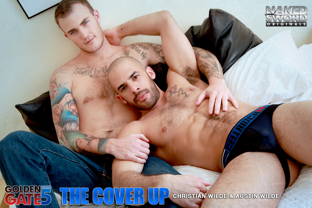 Christian Wilde Austin Wilde flip fuck gay hot daddy dude men porn Cover Up