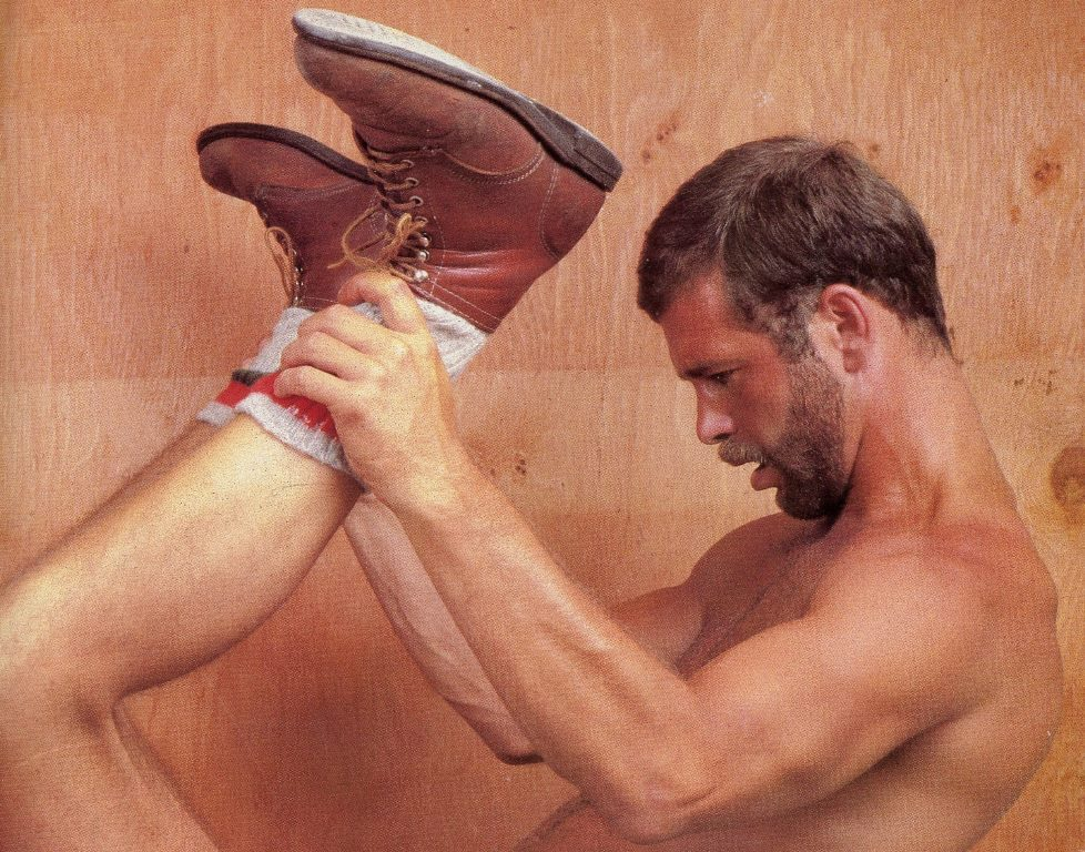 Mark Rutter vintage gay hot daddy dude men porn