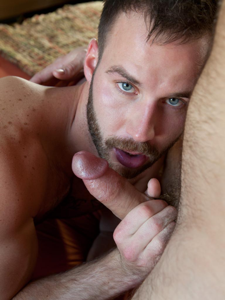Chris Bines flip fuck Paul Wagner gay hot daddy dude men porn Randy Blue