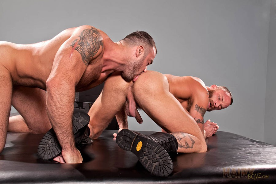 Spencer Reed fuck Derek Parker gay hot daddy dude men porn Pure Sex