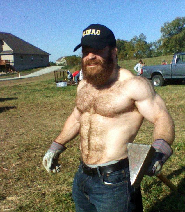 Lucas Parker hot rugged daddies dudes men