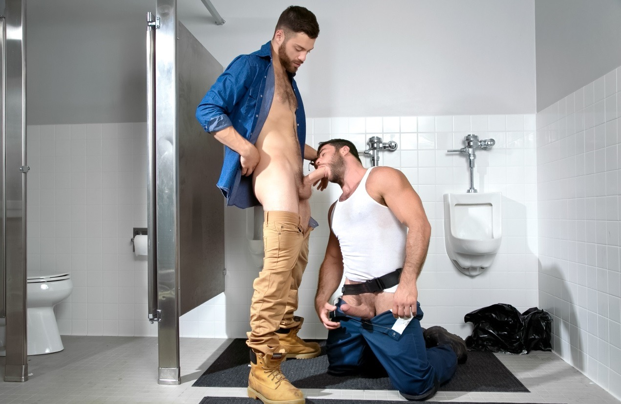 Tommy Defendi fuck Mike Dozer gay hot daddy dude men porn Open Road