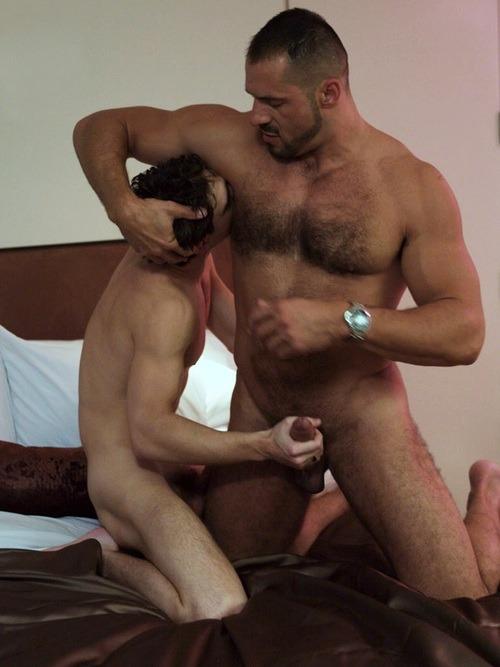 Arpad Miklos fuck Zack Randall gay hot daddy dude men porn gigolo