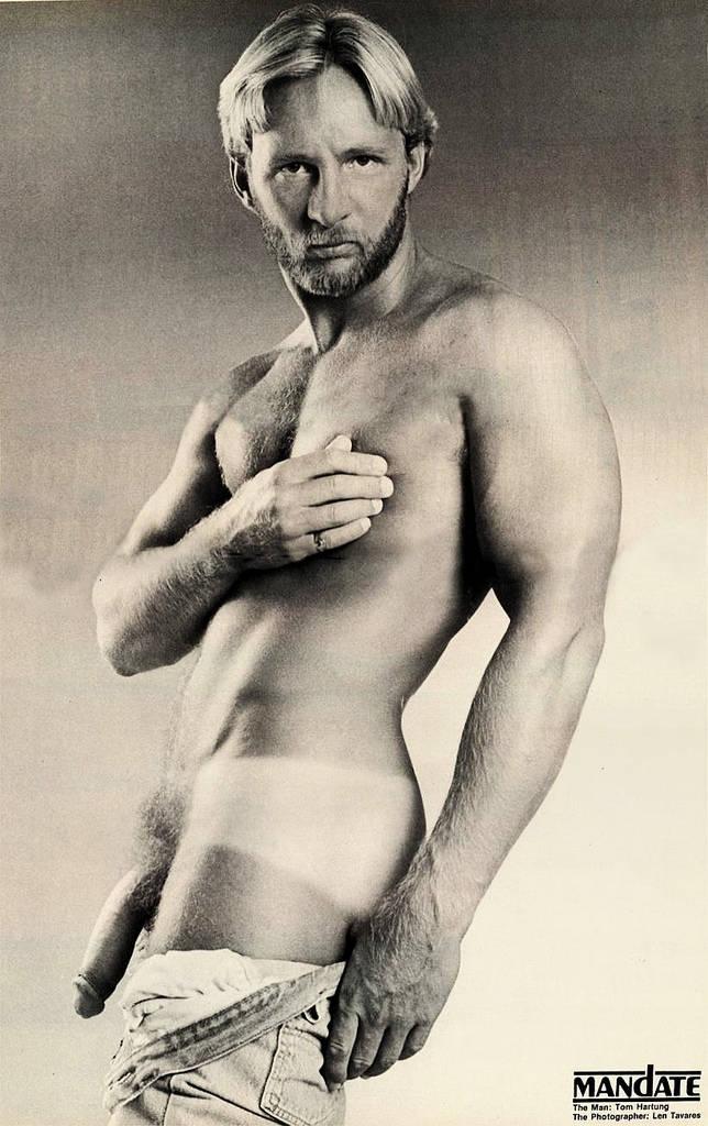 Tom Hartung Mandate vintage gay hot daddy dude men porn