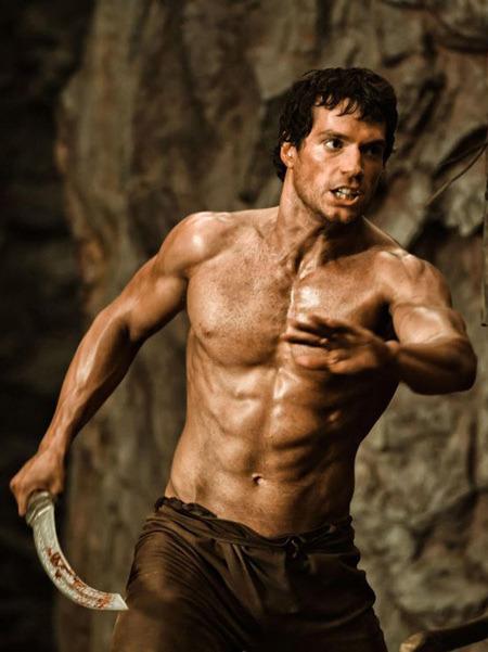 Henry Cavill Immortals hot sexy ripped rugged men