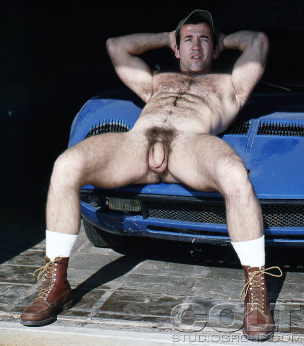 Moose vintage gay hot daddy dude men porn Colt