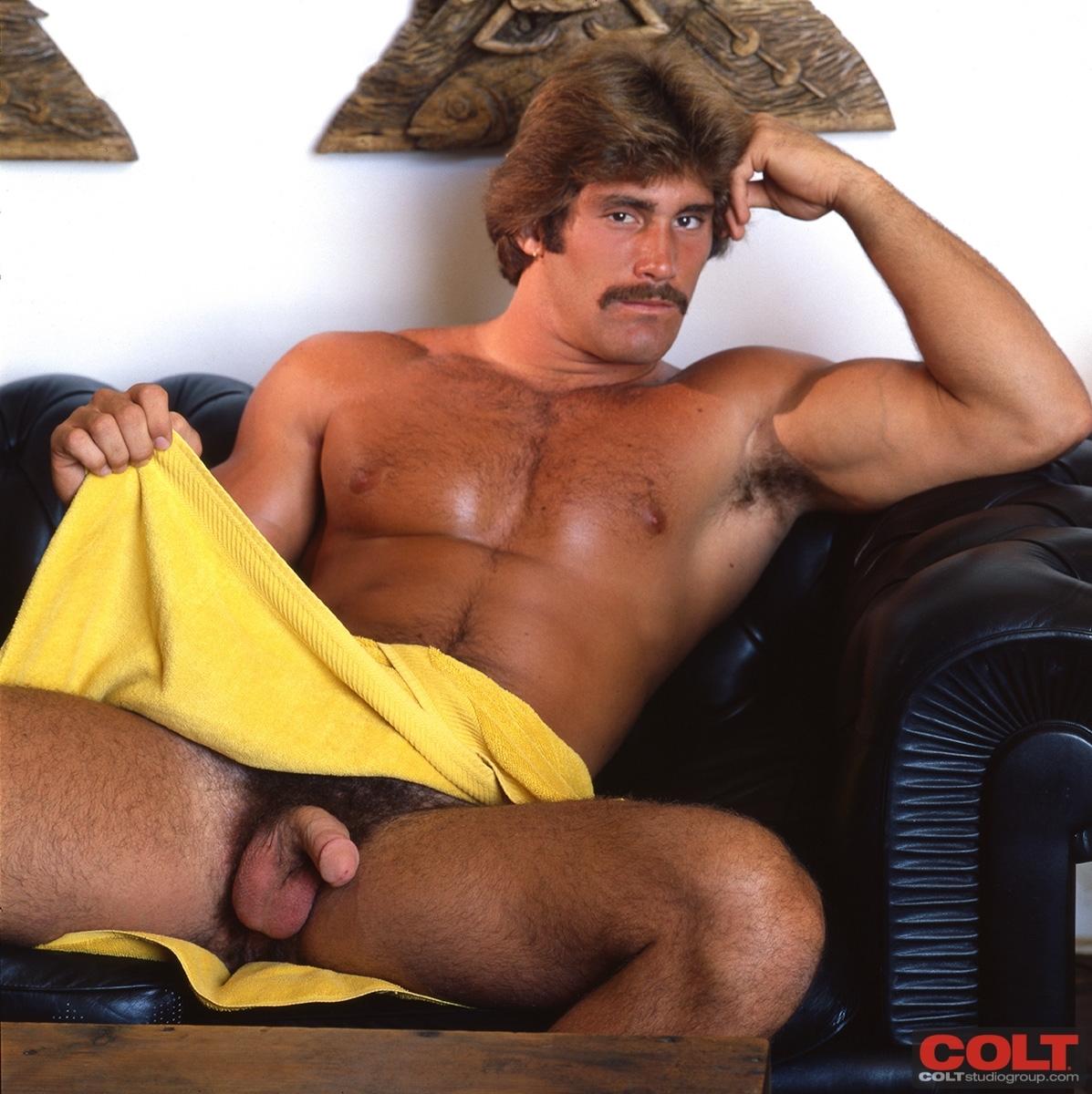 Byron Hawkwood vintage gay hot daddy dude men porn colt