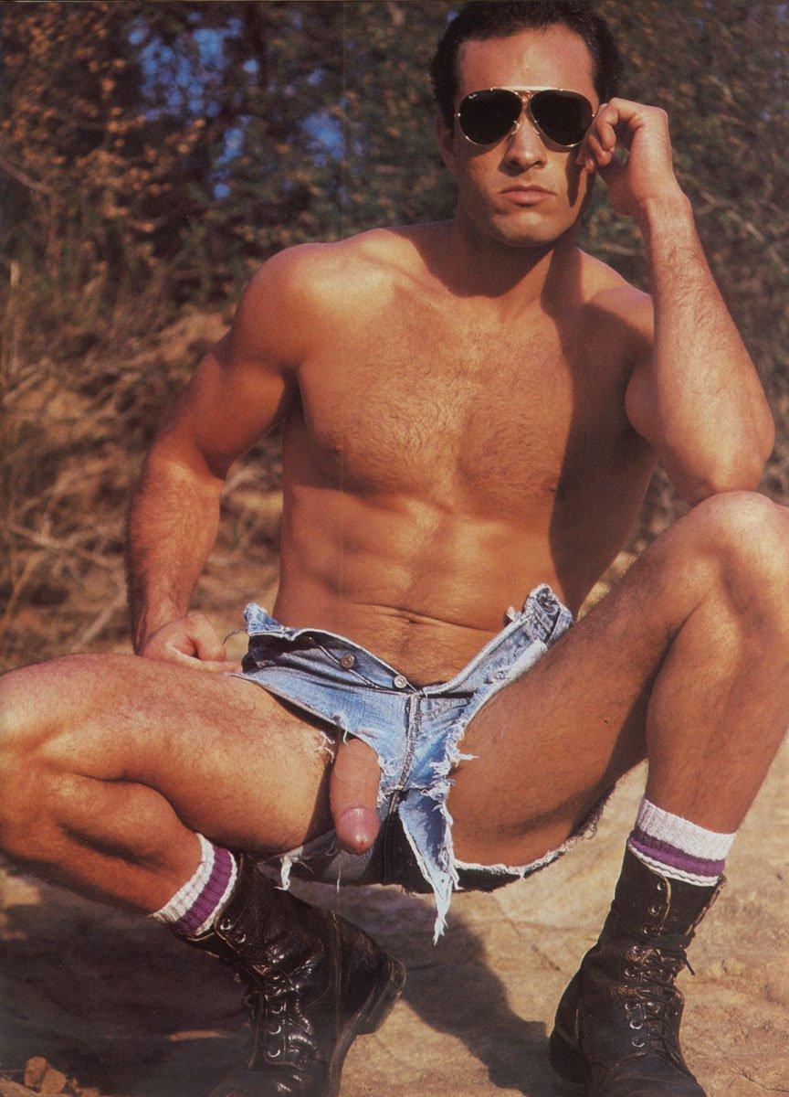 Rigardo Merlo vintage gay hot daddy dude men porn