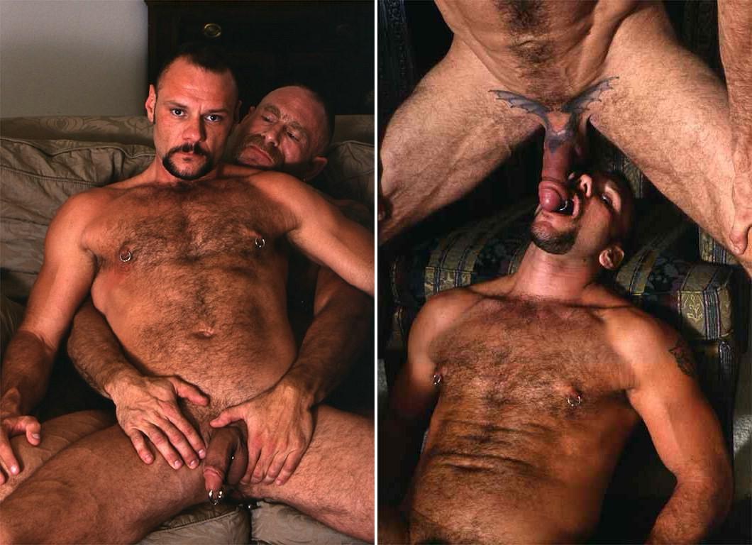 Larry Wolf Steve Dragon gay hot daddy dude men porn