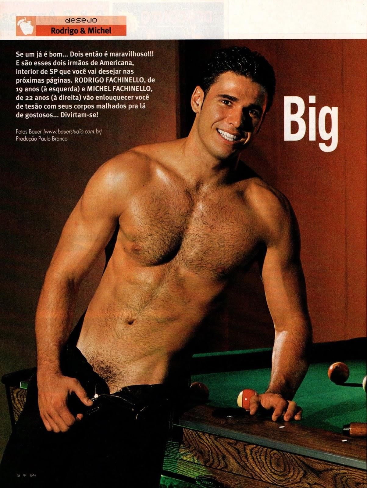 Rodrigo Michel Fachinello gay hot daddy dude men porn twins