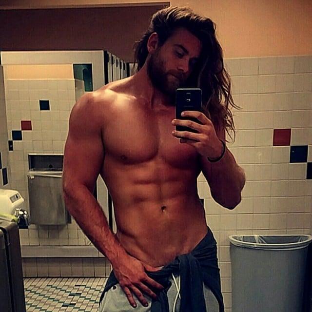Brock O'Hurn hot daddies dudes men