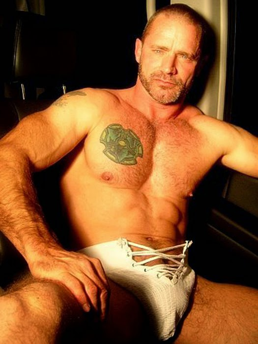 Brendan Davies gay hot daddy dude men porn