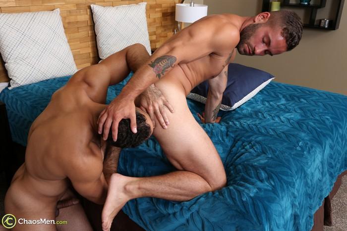 Bronson fuck Lorenzo gay hot daddy dude men porn Chaos Men