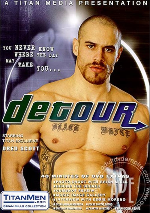 Dred Scott fuck Eddie Moreno Detour gay daddy dude men porn