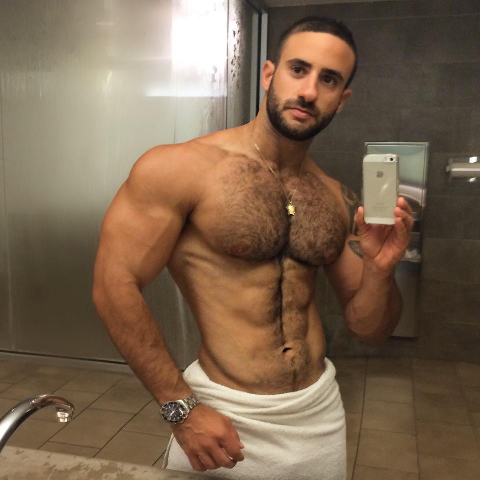 Eliad Cohen gay hot daddy dude men