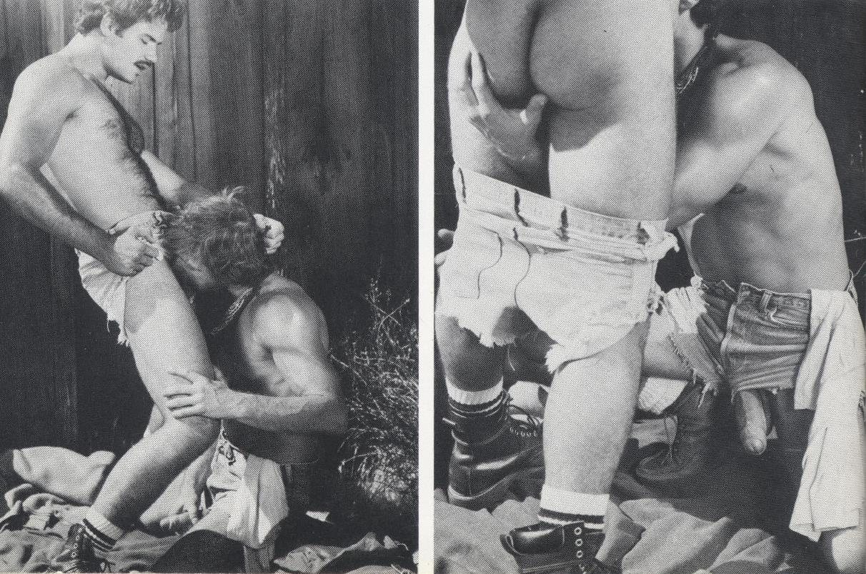 Hank Ditmar Mark Rutter bareback flip fuck gay hot vintage daddy dude men porn