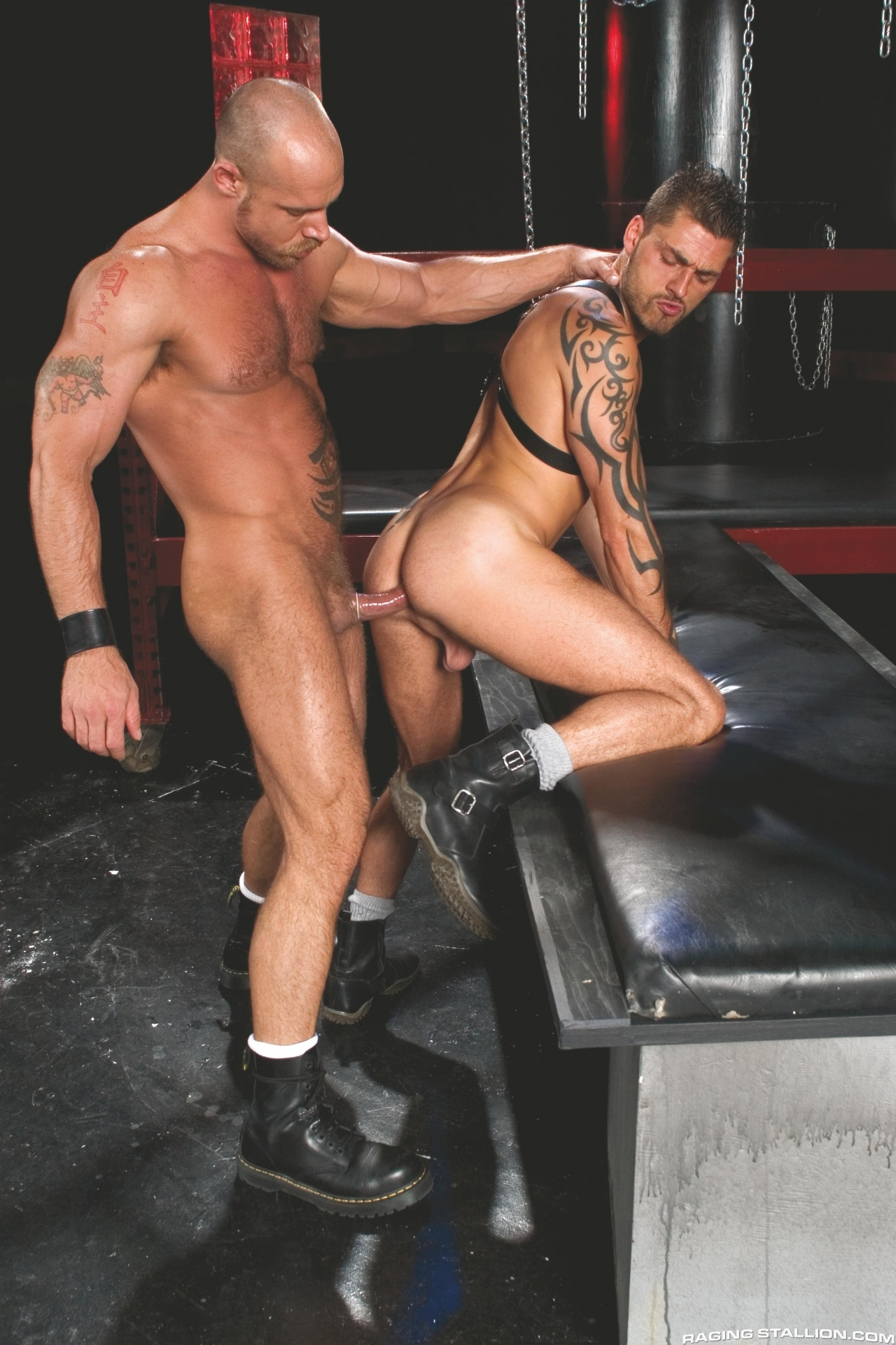 Jake Deckard fuck Tamas Eszterhazy gay hot daddy dude men porn Instinct