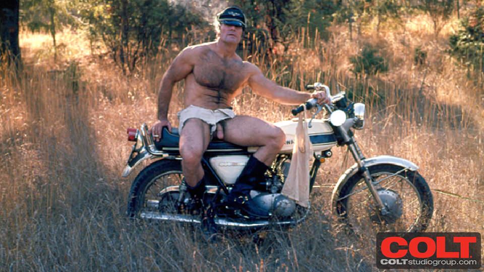 Ledermeister gay hot vintage daddy dude men porn