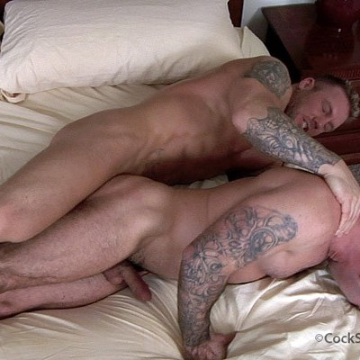Bo Dean fuck Dak Ramsey gay hot daddy dude men porn Cocksure Men
