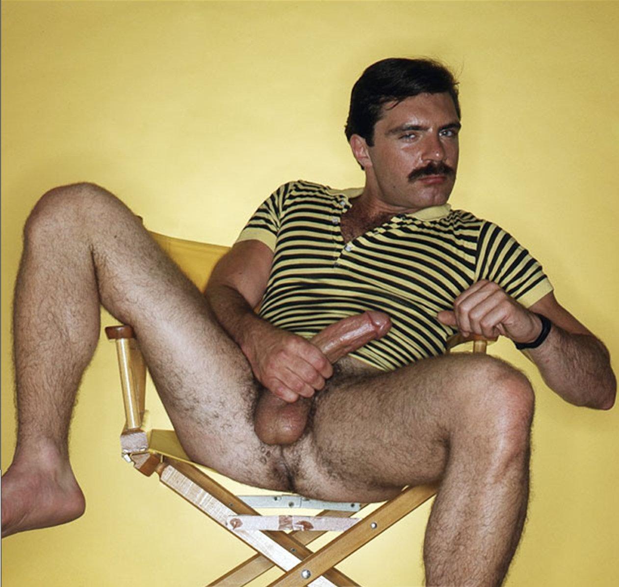 Glenn Steers vintage gay hot daddy dude men porn