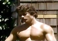 Jimmy Metz Tom LeDuc Glenn Steers vintage gay hot daddy dude men porn Hard To Come By