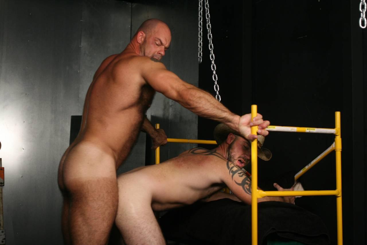 Zak Spears fuck Jake Dakota gay hot daddy dude men porn