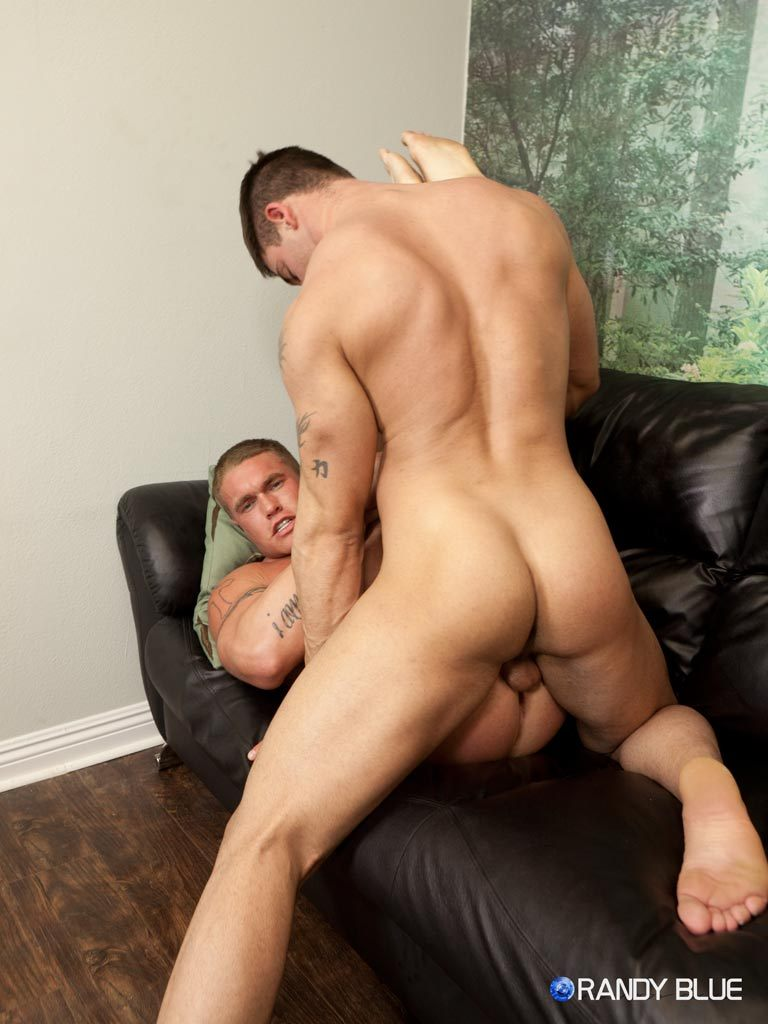 Derek Atlas fuck Bryce Tucker gay hot daddy dude men porn Randy Blue