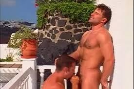 Luciano Endino fuck Renato Bellagio gay hot daddy dude men porn Santorini Heatwave