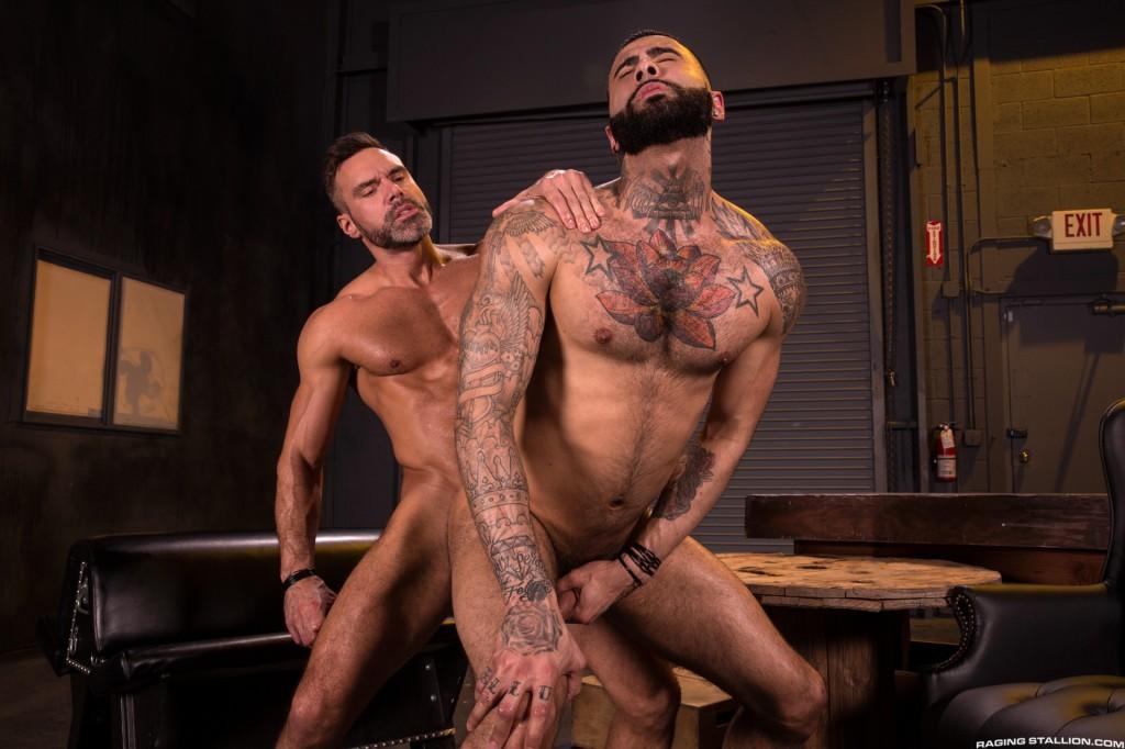 Manuel Skye fuck Rikk York gay hot daddy dude men porn Beards Bulges Ballsacks