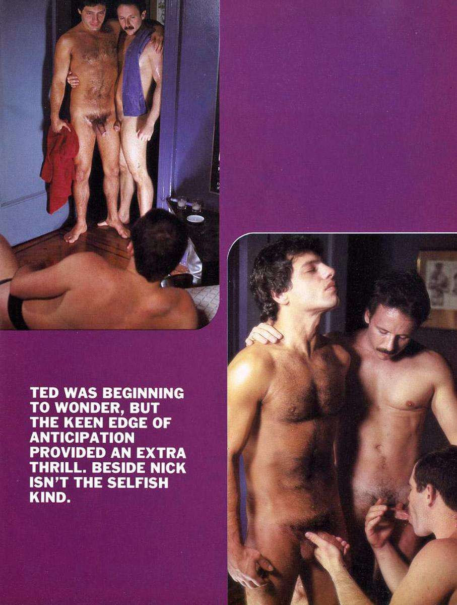 Nick Mauro Stan Lauder Jeff Stone vintage gay hot daddy dude porn Buddies In Heat