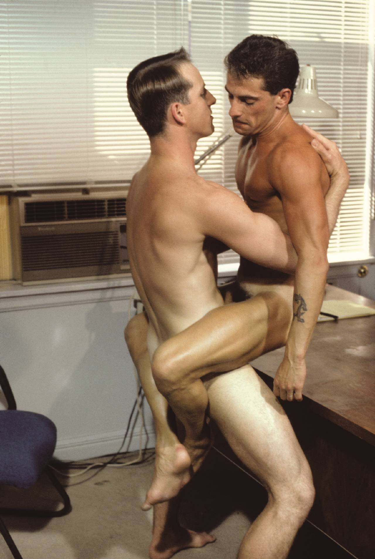 Dick Masters fuck Rick Coleman gay vintage hot daddy dude men porn Manrammers