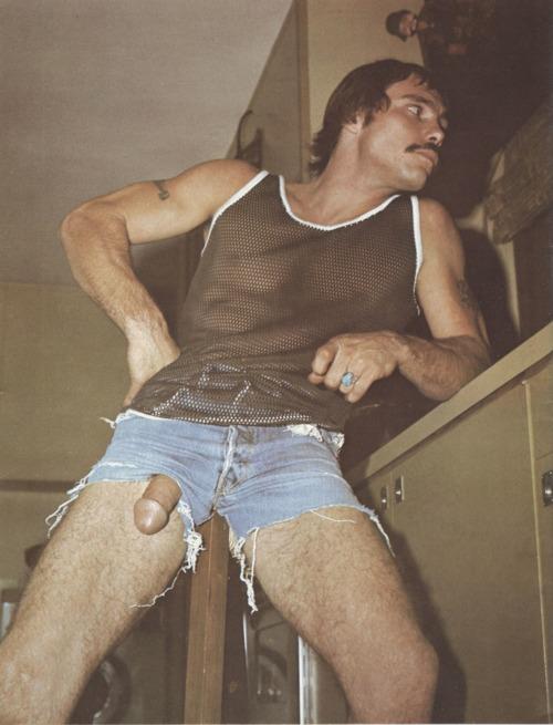 Monte Hanson vintage gay hot daddy dude men porn