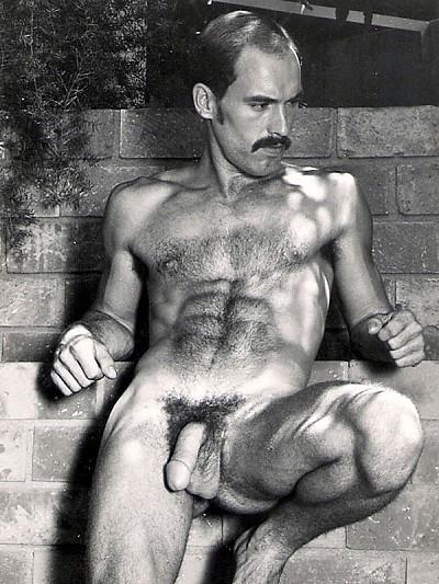 Nick Rogers vintage gay hot daddy dude men porn