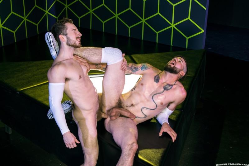 Buck Richards and Eddie West flipfuck gay hot daddy dude men porn Gaymers